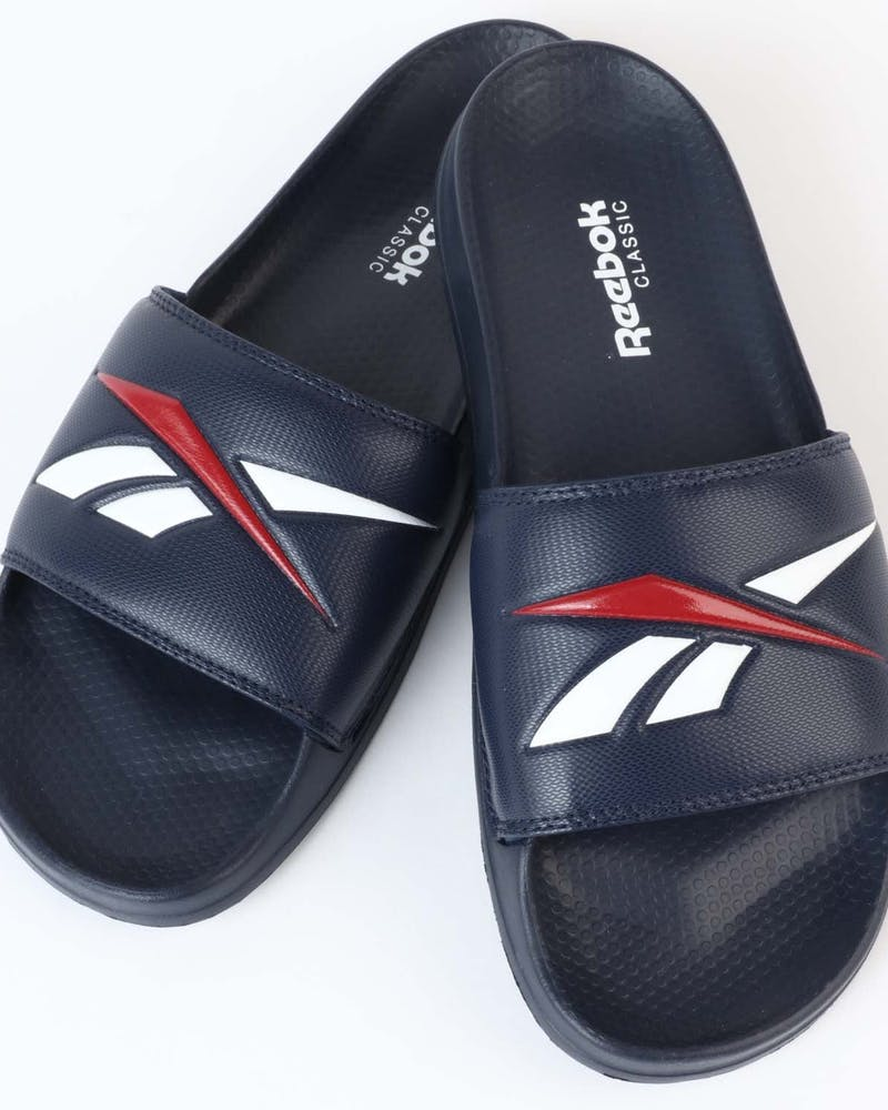 Reebok Classic Slide V Navy/White/Red