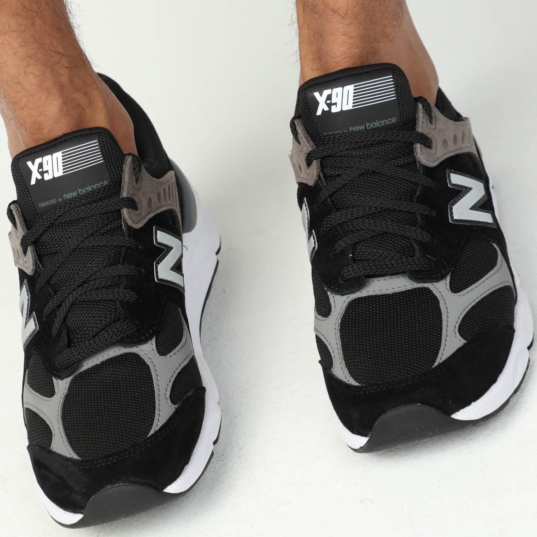 New Balance x90 V1 Black/White/Grey