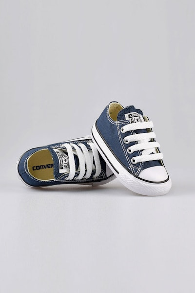 Converse Infant Chuck Taylor All Star Lo Navy/Black/White