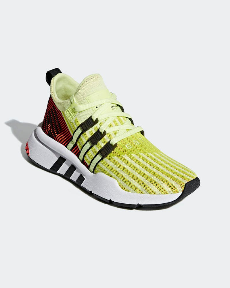 Adidas EQT Support Adv Mid Junior Yellow/White/Red