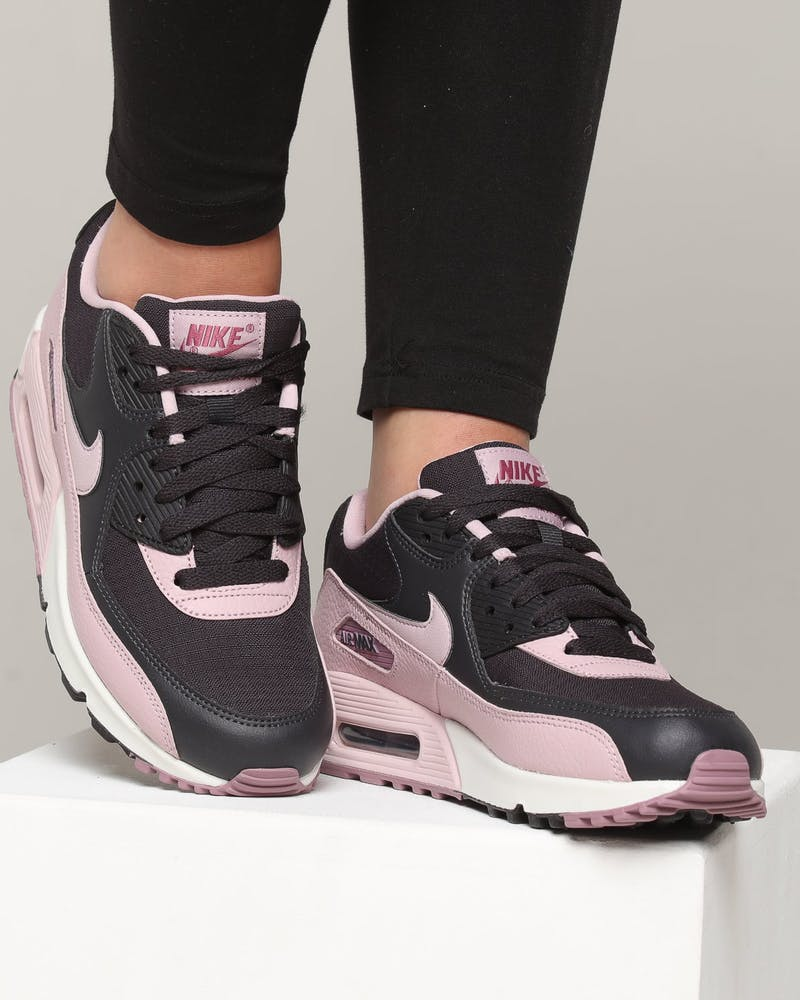 Nike Women's Air Max 90 Dark Grey/Plum