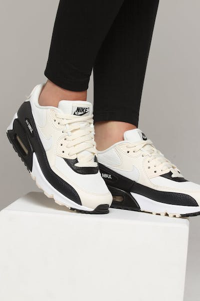Nike Women's Air Max 90 Off White/Black