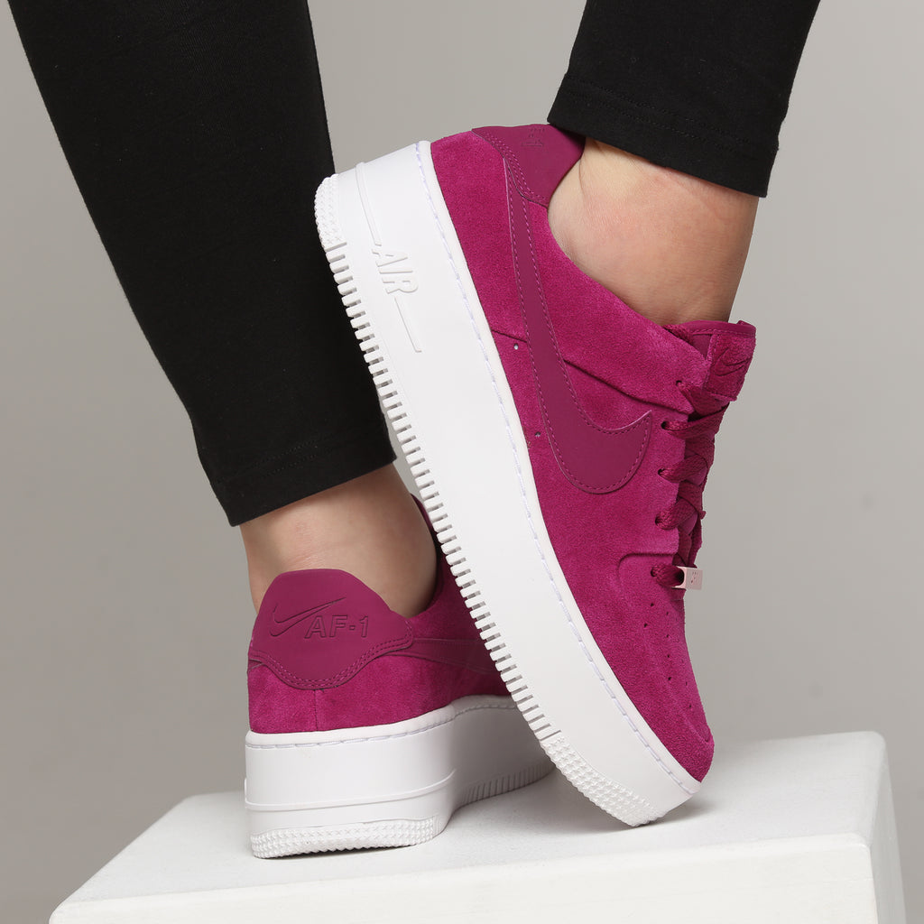 Nike Women's Air Force 1 Sage Low Berry