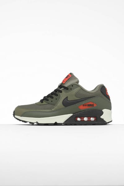 de3949eeb1 Nike Air Max 90 Essential Olive/Black/Orange