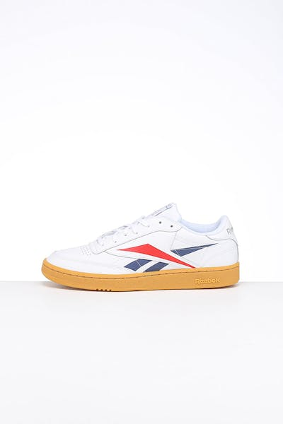 Reebok Club C 85 White/Red/Blue