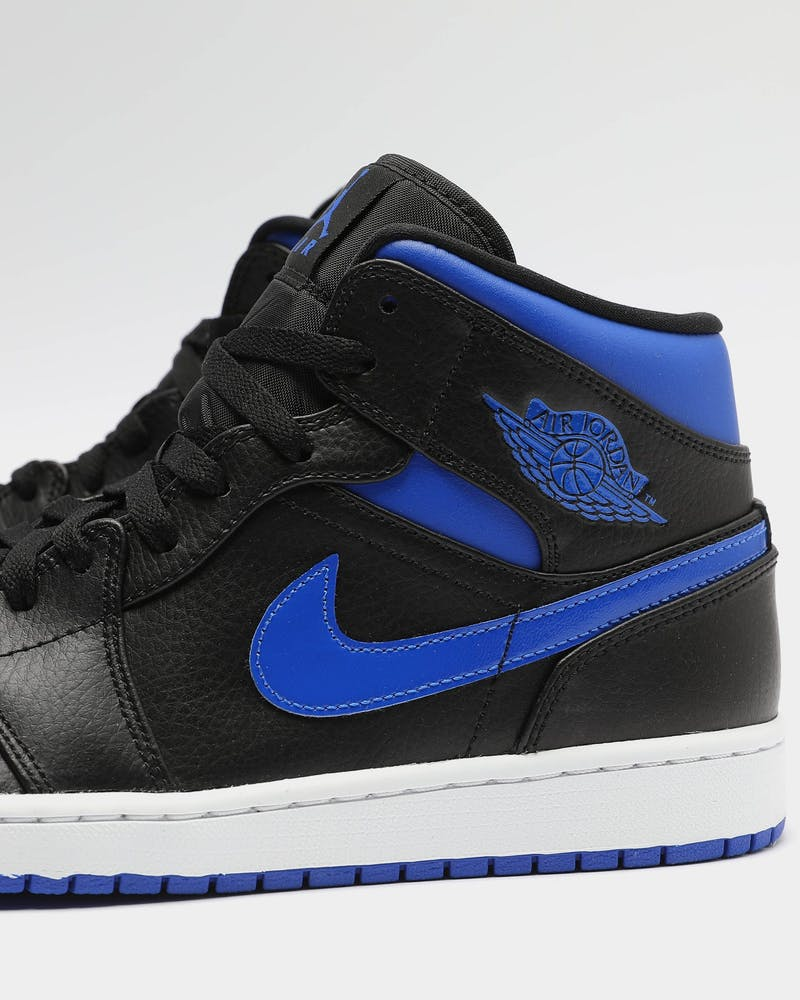 Jordan Air Jordan 1 Mid Black/Royal/White