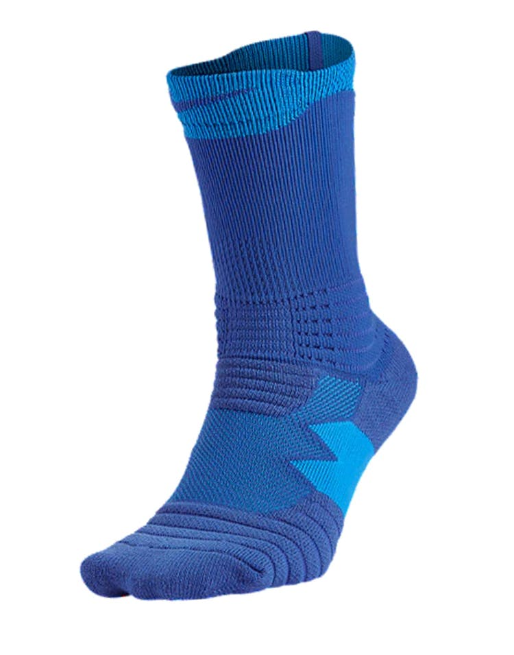 Nike Elite Versatility Crew Basketball Sock Blue/Blue