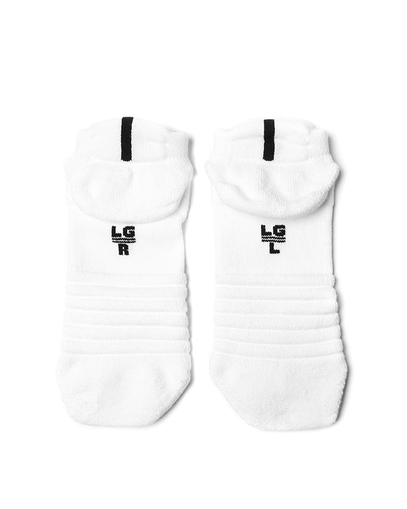 Nike Elite Versatility Low Basketball Sock White/Black