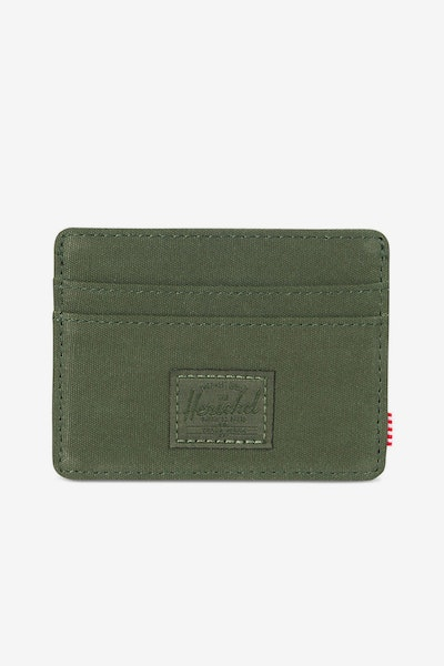 Herschel Bag CO Charlie RFID Wallet Green