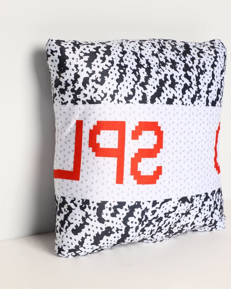 Goat Crew Zebra 350 Pillow Black/White/Red