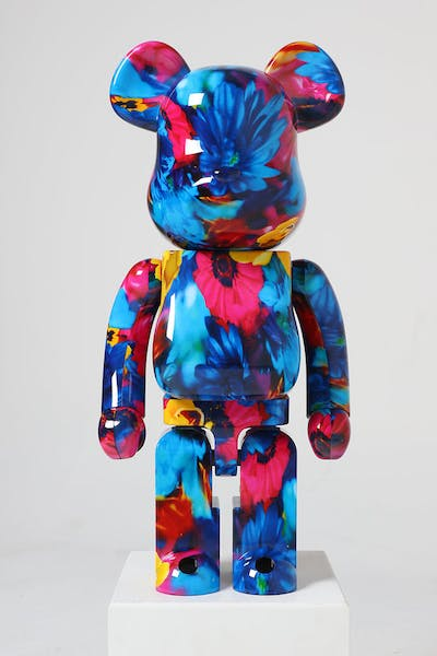 Medicom Toy BE@RBRICK Mika Anemone 1000% Floral