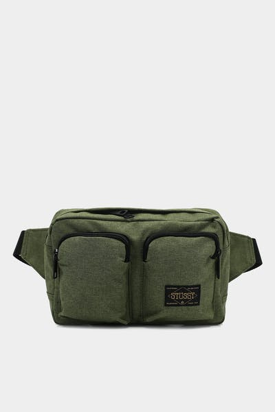 Stussy Workwear Utility Bag Green