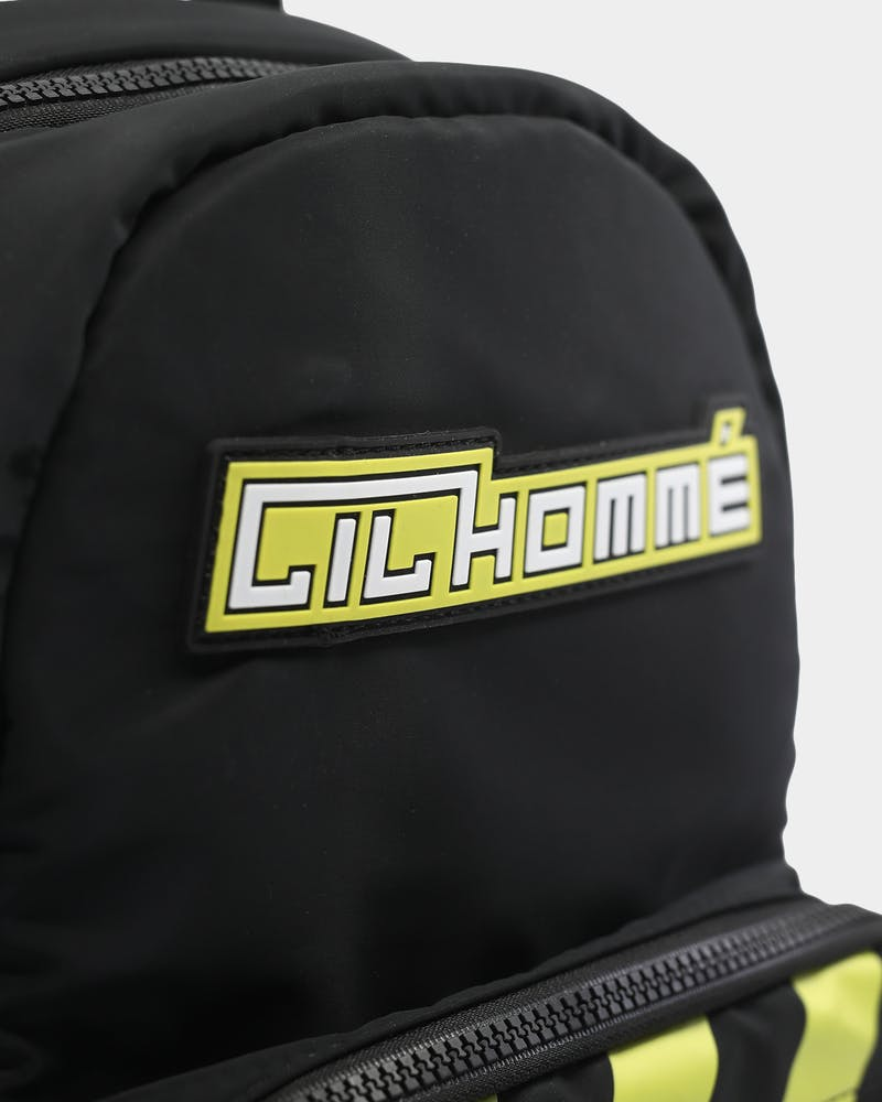 Lil Hommé Loaded Backpack Black/Yellow