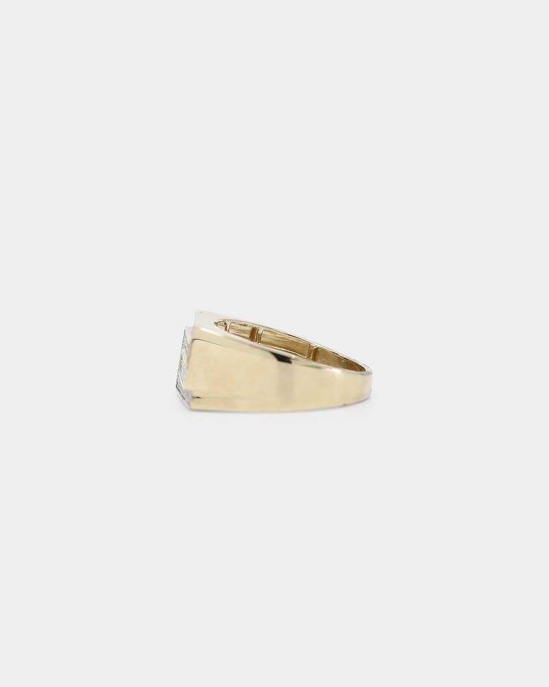 House of Auric Concur Ring 10K Yellow Gold