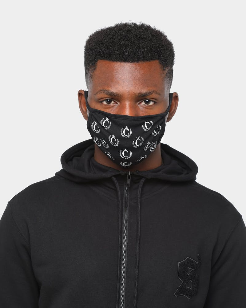 Culture Kings NFS Face Mask Black/White