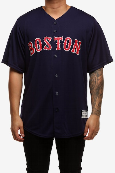 Majestic Athletic Boston Red Sox Cool Base Jersey Navy