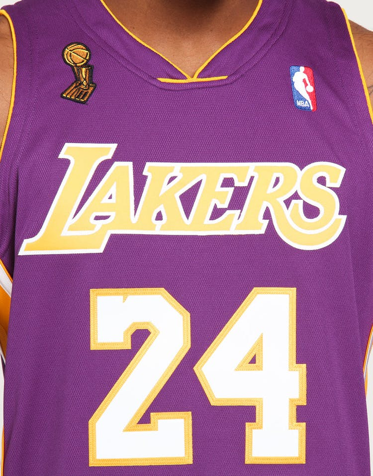 low priced 4096c 1f152 Mitchell & Ness Los Angeles Lakers Kobe Bryant #24 Authentic NBA Jersey  Purple
