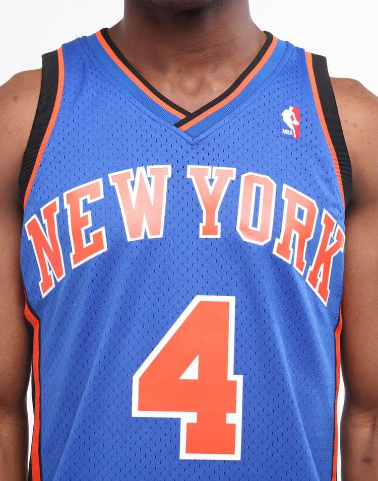 half off f3eab 9201e Mitchell & Ness New York Knicks Nate Robinson #4 Swingman Jersey Royal