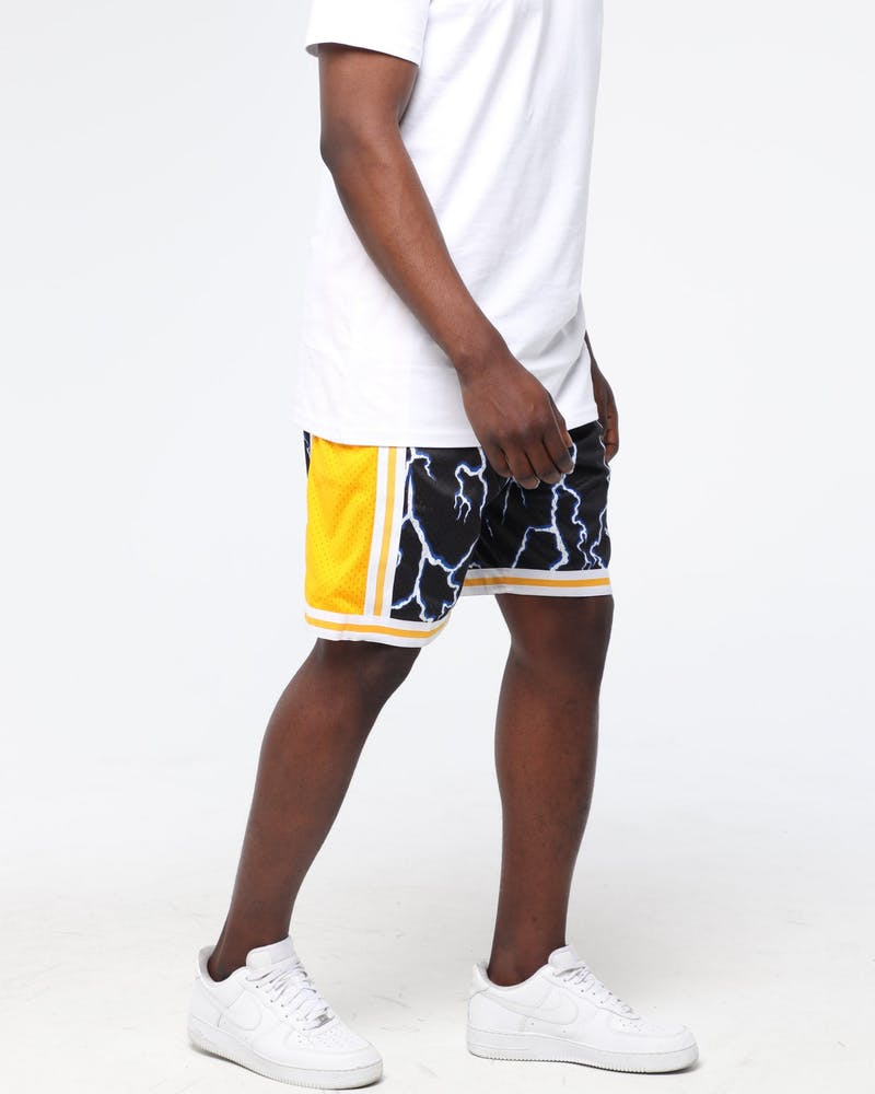 Mitchell & Ness Los Angeles Lakers 96-97 Lightning Swingman Short Black