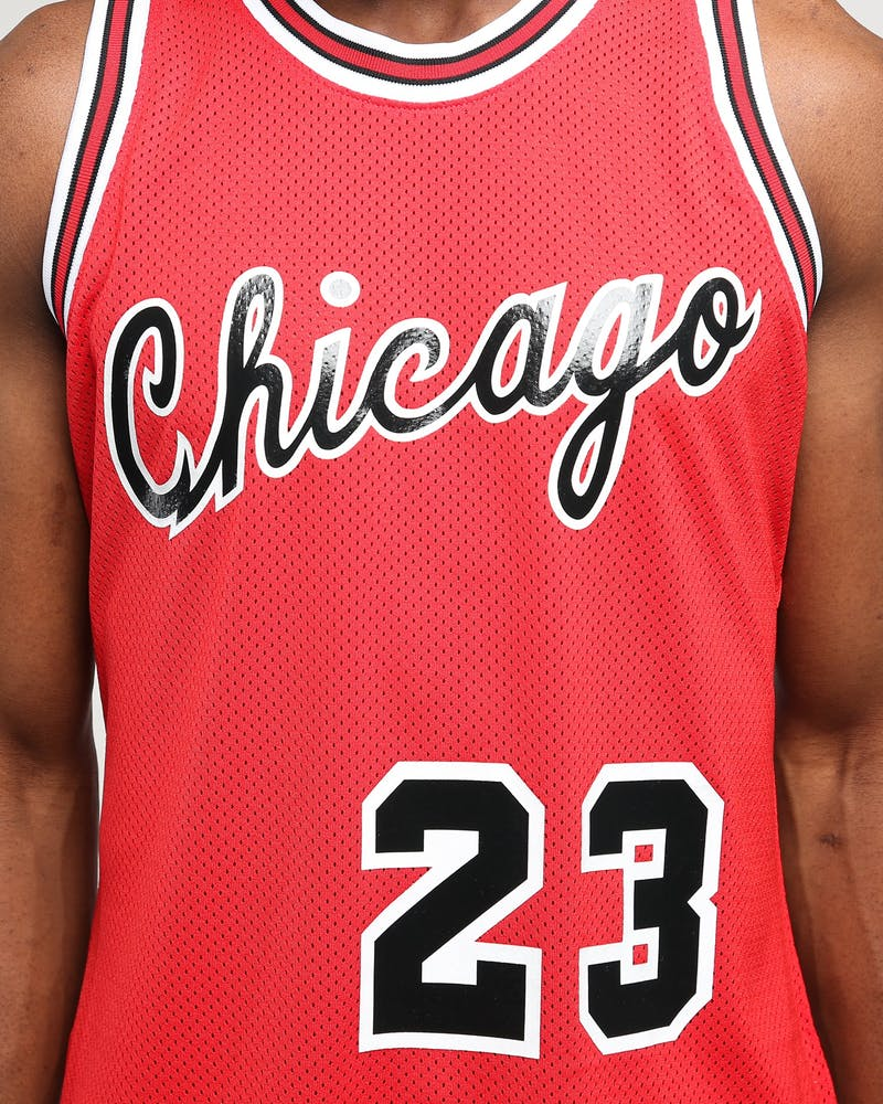 Mitchell & Ness Chicago Bulls Michael Jordan #23 84'-85' Authentic NBA Jersey Red