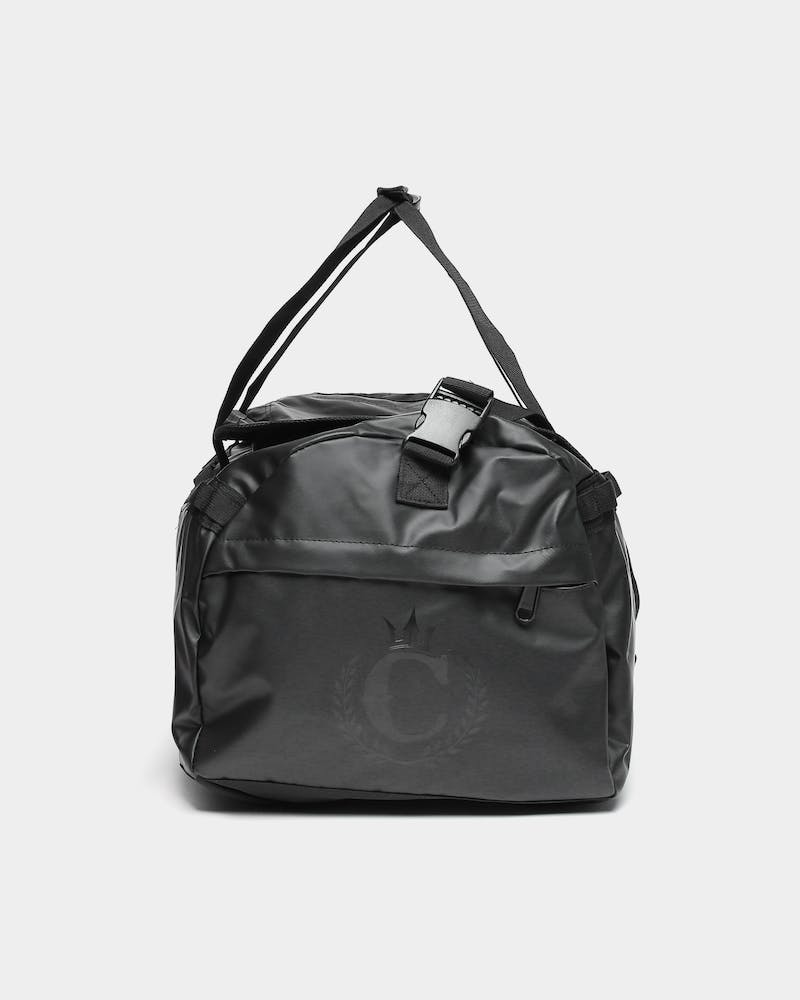 CULTURE KINGS NOT-FOR-SALE MULTI FUNCTION DUFFLE BAG BLACK/BLACK