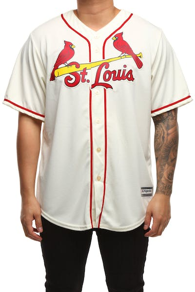 Majestic Athletic St. Louis Cardinals Cool Base Jersey Ivory
