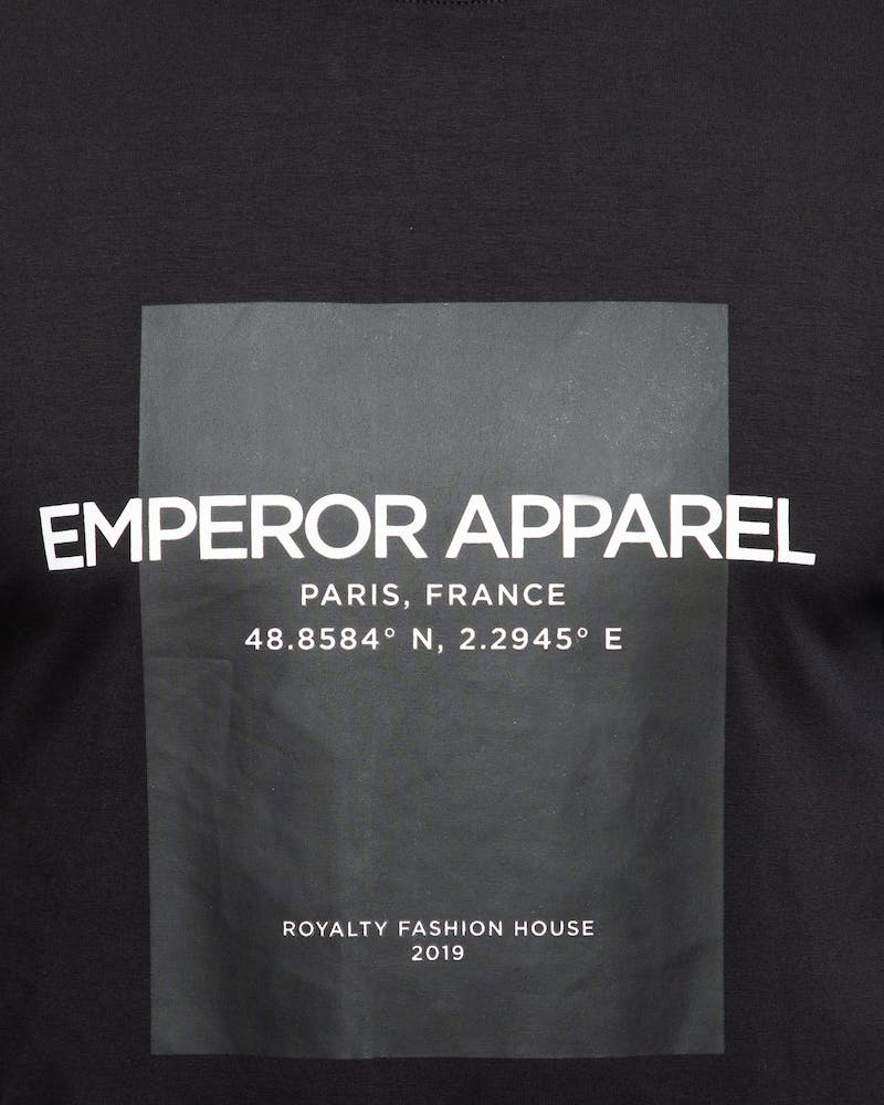 Emperor Apparel Chanel T-Shirt Black