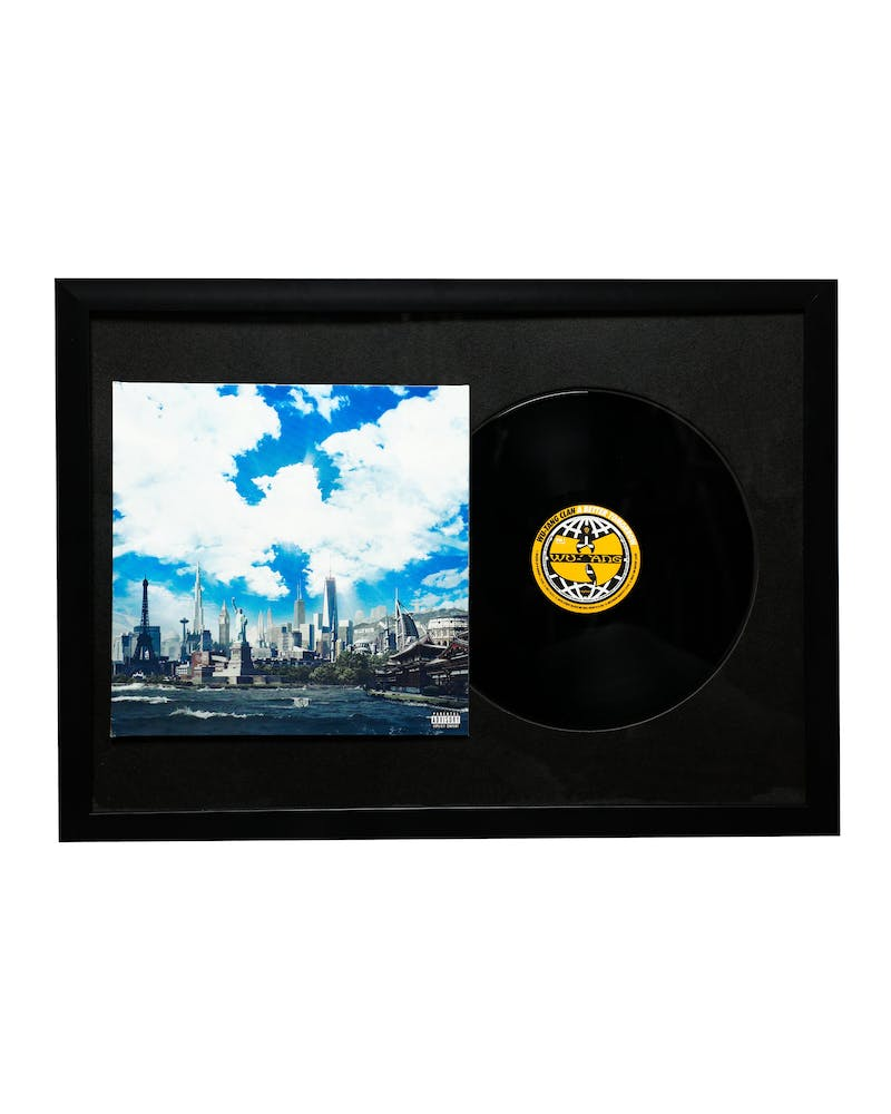 Music Merch Wu-Tang A Better Tomorrow Framed