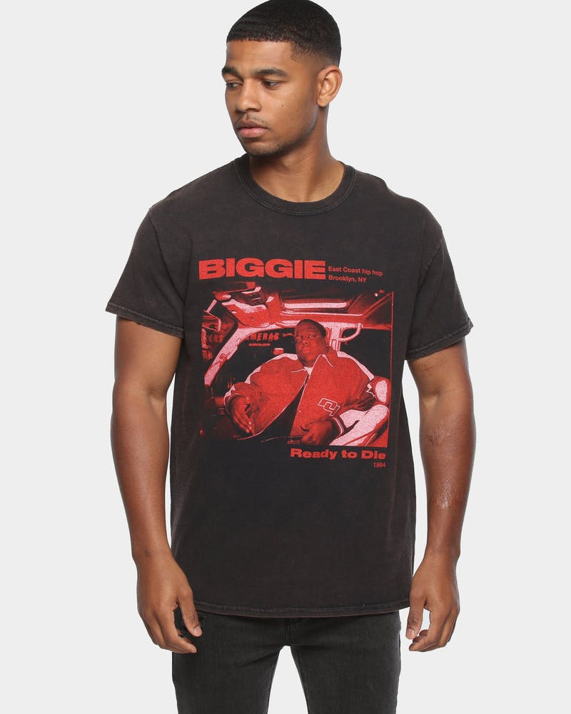 NOTORIOUS B.I.G EAST COAST RIDE SS TEE BLACK