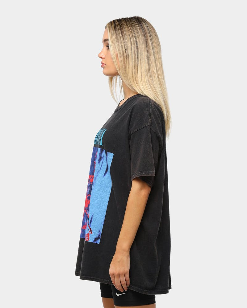 Nirvana Sliver Vintage Tee Washed Black