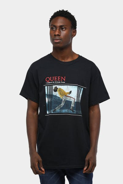 Queen I Want To Break Free SS Tee