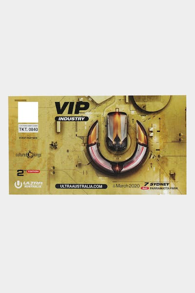 Ultra Music Sydney VIP Physical Ticket
