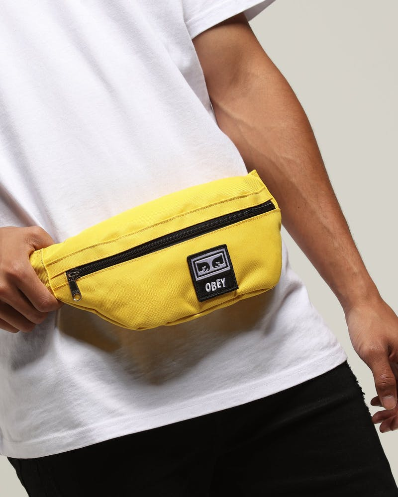 OBEY Daily Sling Pack Yellow