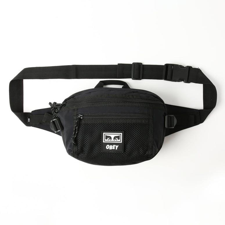 a5c684e0c7c OBEY Conditions Waist Bag Black