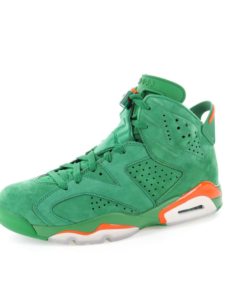 "8fc463a9d579ec Air Jordan 6 Retro NRG G8RD ""Gatorade Green"""