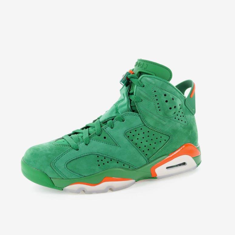 "821219007991 Air Jordan 6 Retro NRG G8RD ""Gatorade Green"""