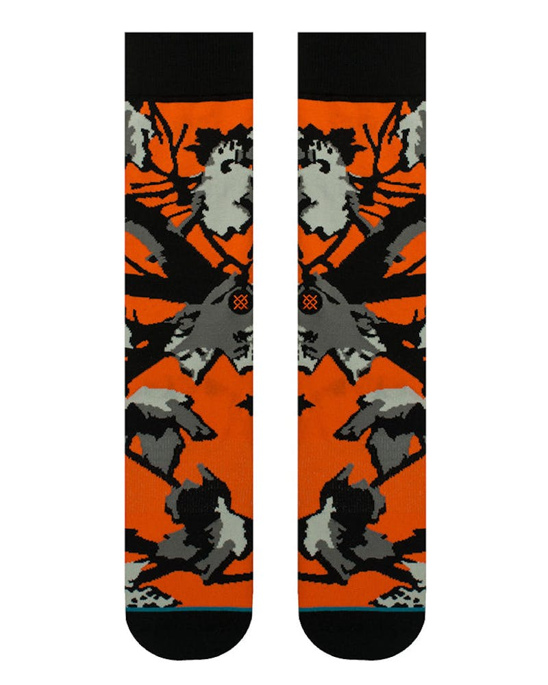 Stance Prey Sock Orange