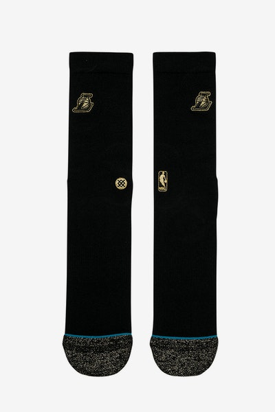 Stance Lakers Trophy Sock Black