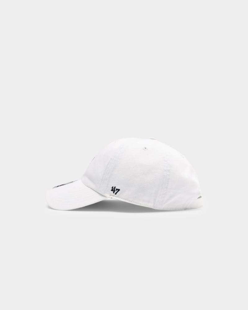 47 Brand New York Yankees Clean Up Strapback White