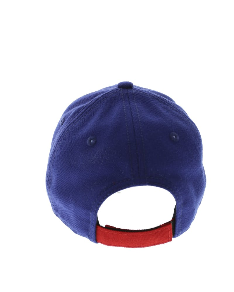 New Era Youth Dodgers 9FORTY Velcro Back Royal/Red
