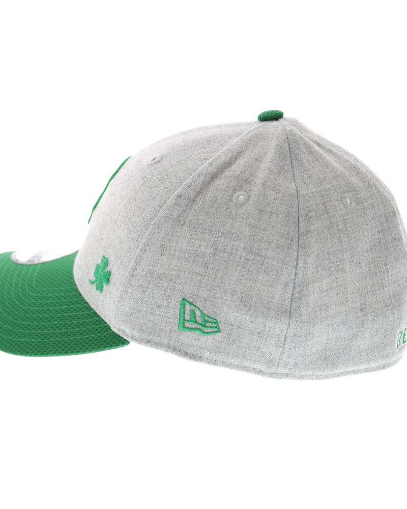 New Era Red Sox Redux 3930 Heather Grey/Green