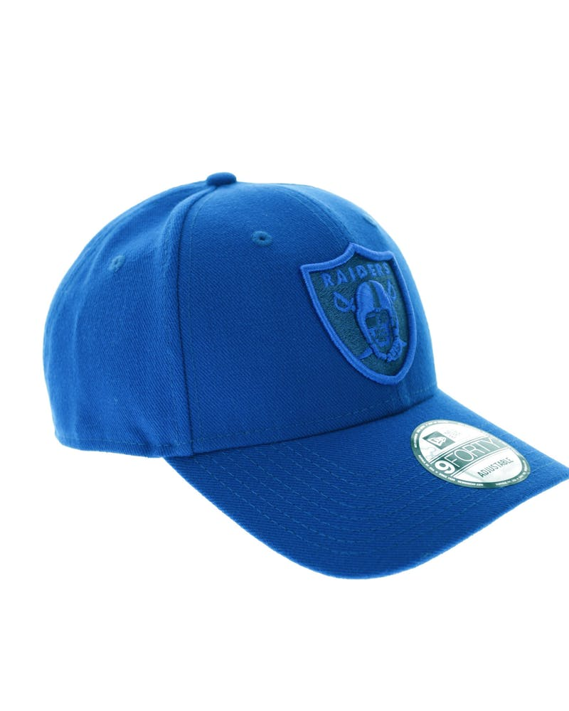 New Era Raiders 9FORTY Emblem Snapback Royal