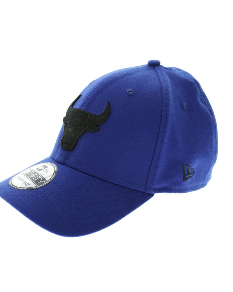 New Era Chicago Bulls Black Logo 3930 Royal/black
