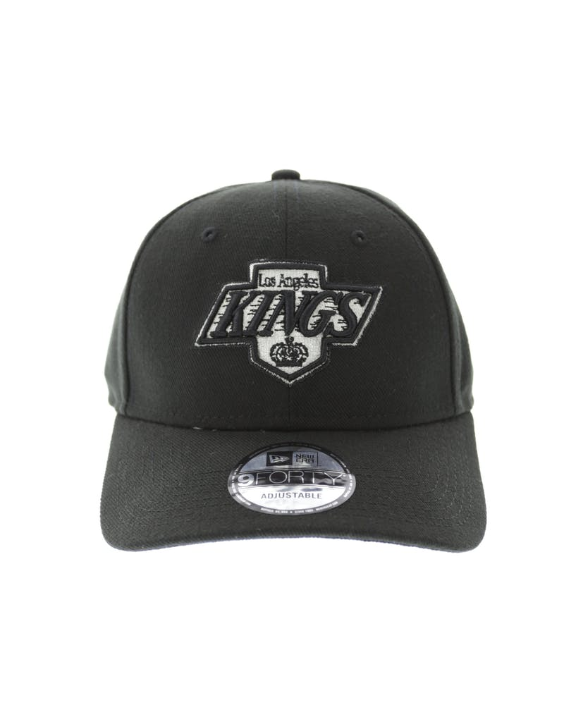 New Era Kings 9FORTY Logo Snapback Black/white