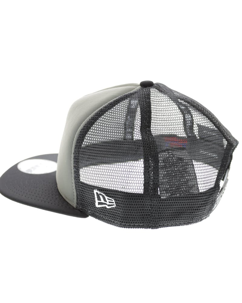 New Era Red Sox Emblem AF Trucker Graphite/black