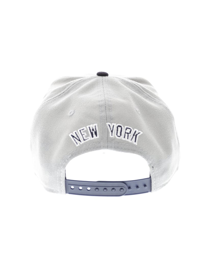 New Era Yankees Road Jersey Original Fit Snapback Grey/black