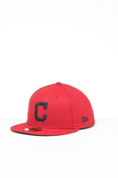New Era Cleveland Indians 59FIFTY ALT Fitted Red/OTC
