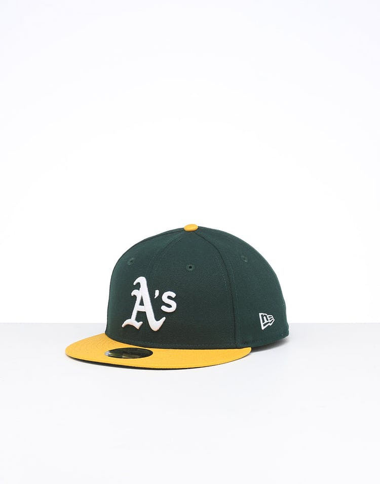 New Era Oakland Athletics 59FIFTY Fitted Green/Yellow/OTC