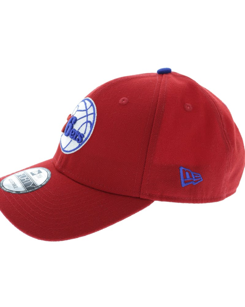 New Era 76ers 9FORTY Velcro Back Scarlet/Light Red