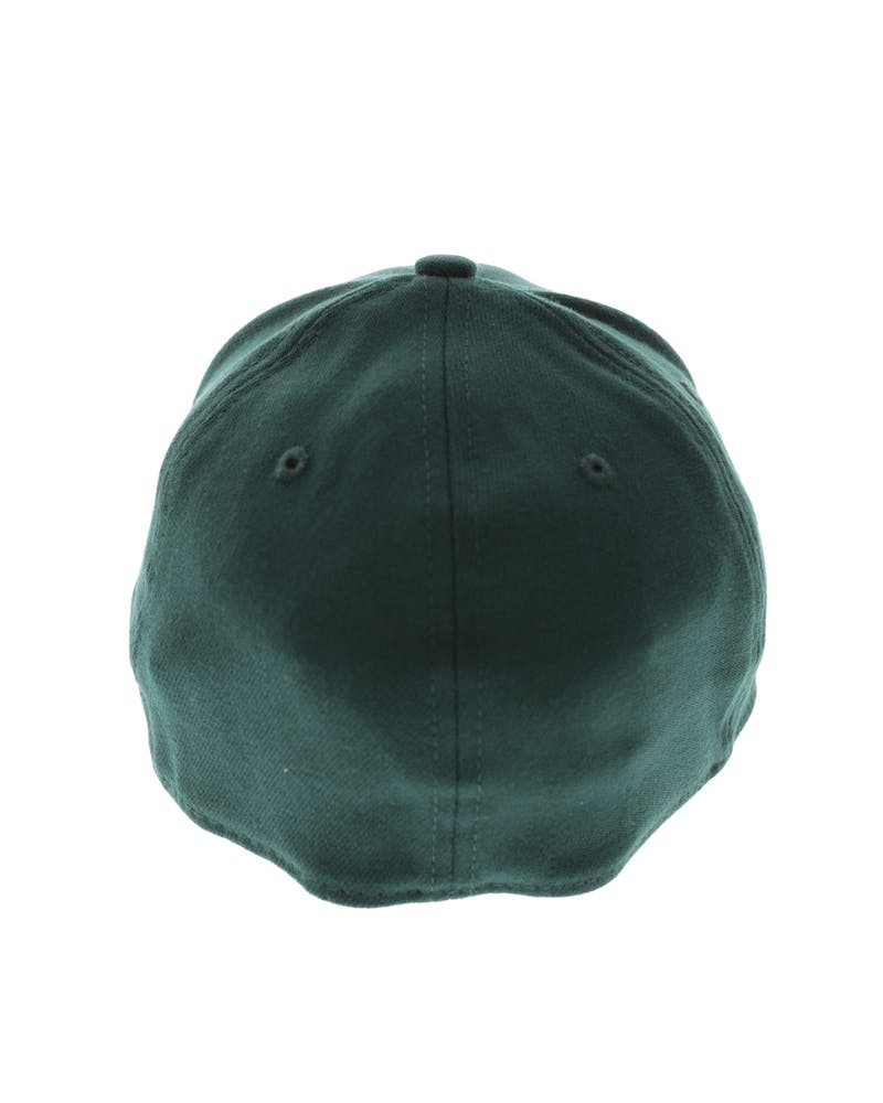 New Era Yankees Tonal 3930 Stretch Fitted Dark Green